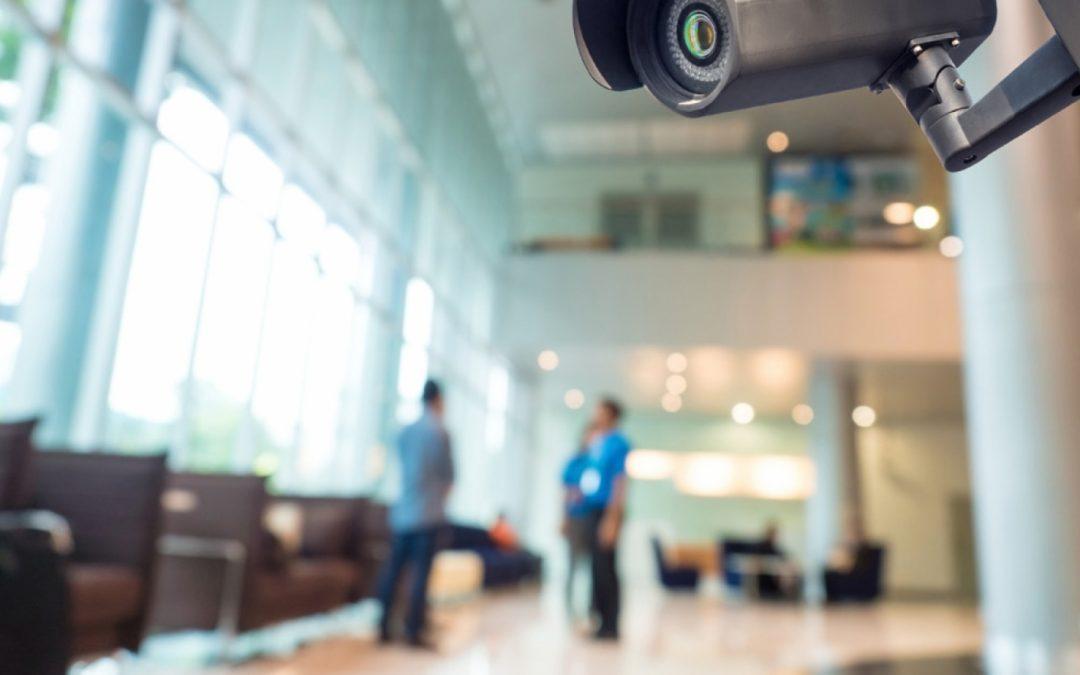 Een bedrijventerrein is toch perfect beveiligd met beveiligingscamera